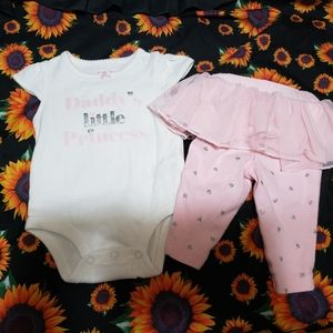 Baby girl 3 month princess outfit